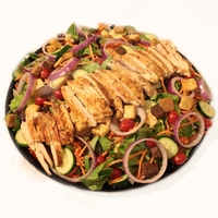 Garden Green Salad with Grilled Chicken