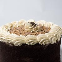 Toffee Candy Crunch Cake