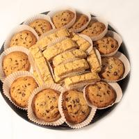 Almond Biscotti Cookie Platter